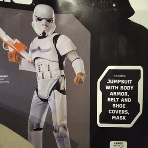 Childrens  Stormtrooper Halloween costume
